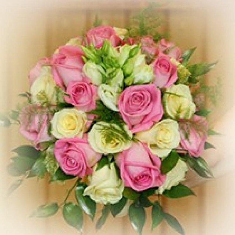wiazanka-slubna-rozno-kolorowe-roze